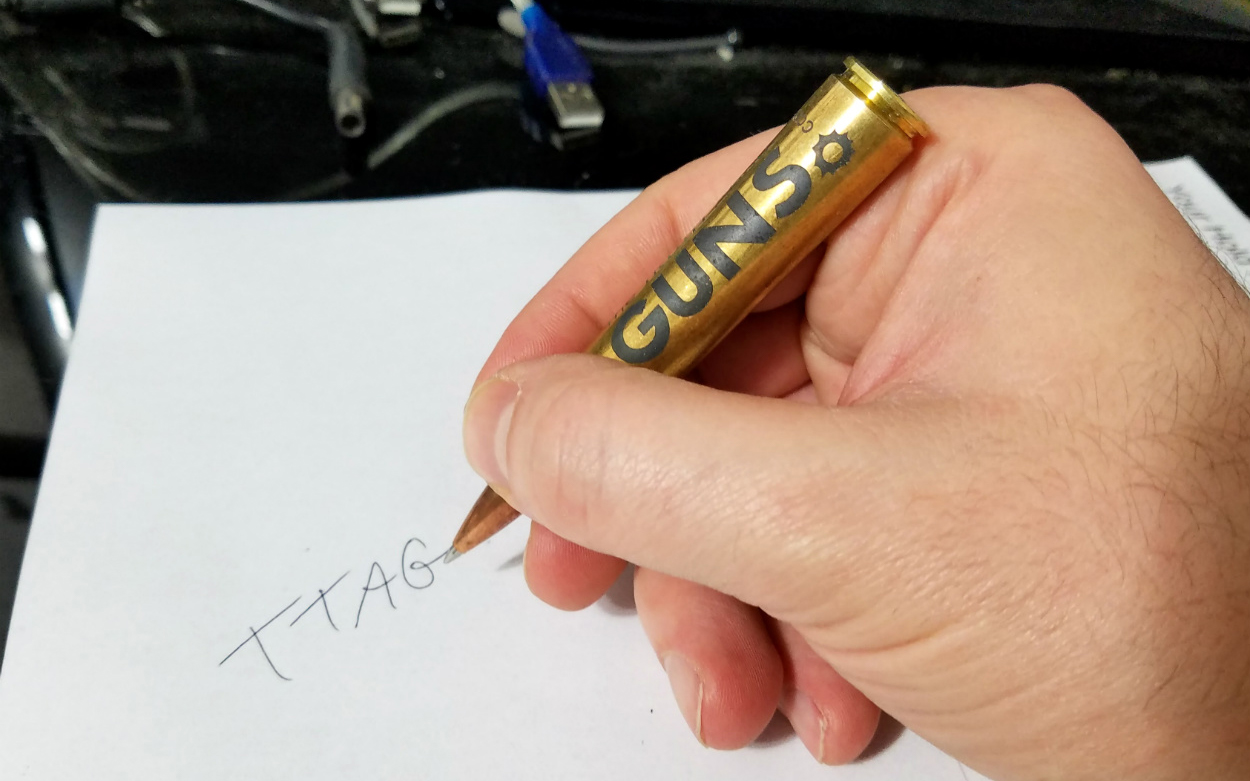 Bullet Cartridge Pen