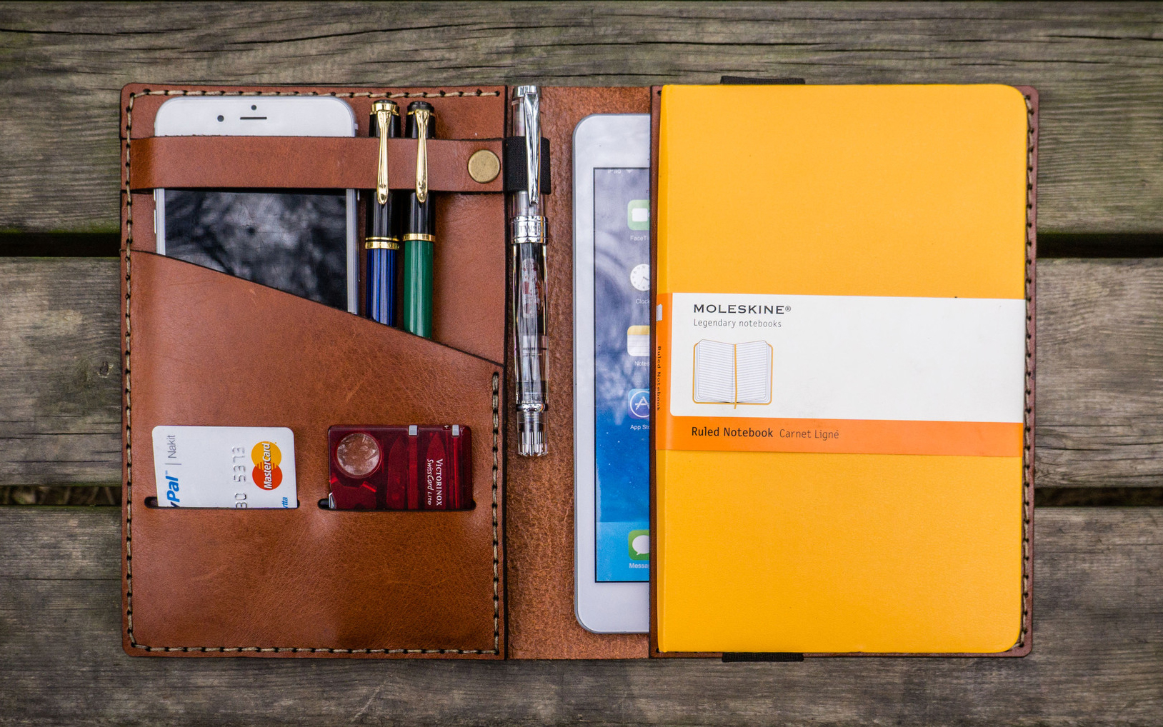 Galen Leather Notebook Covers