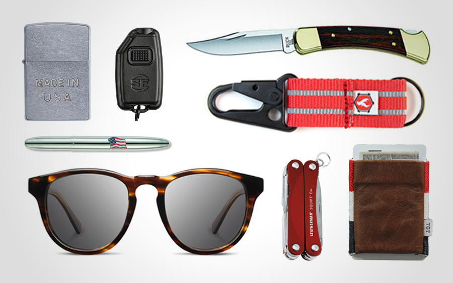 8 EDC Essentials Made in the USA