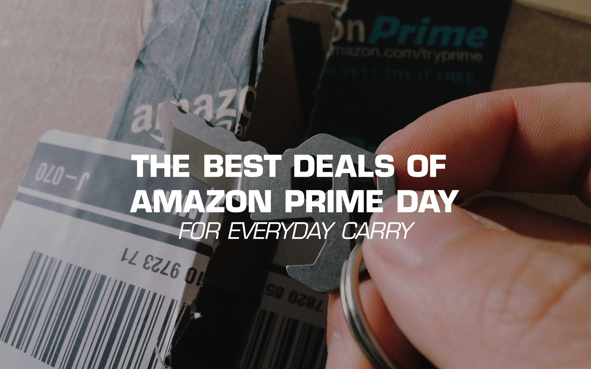 The Best Amazon Prime Day 2017 Deals for EDC Gear