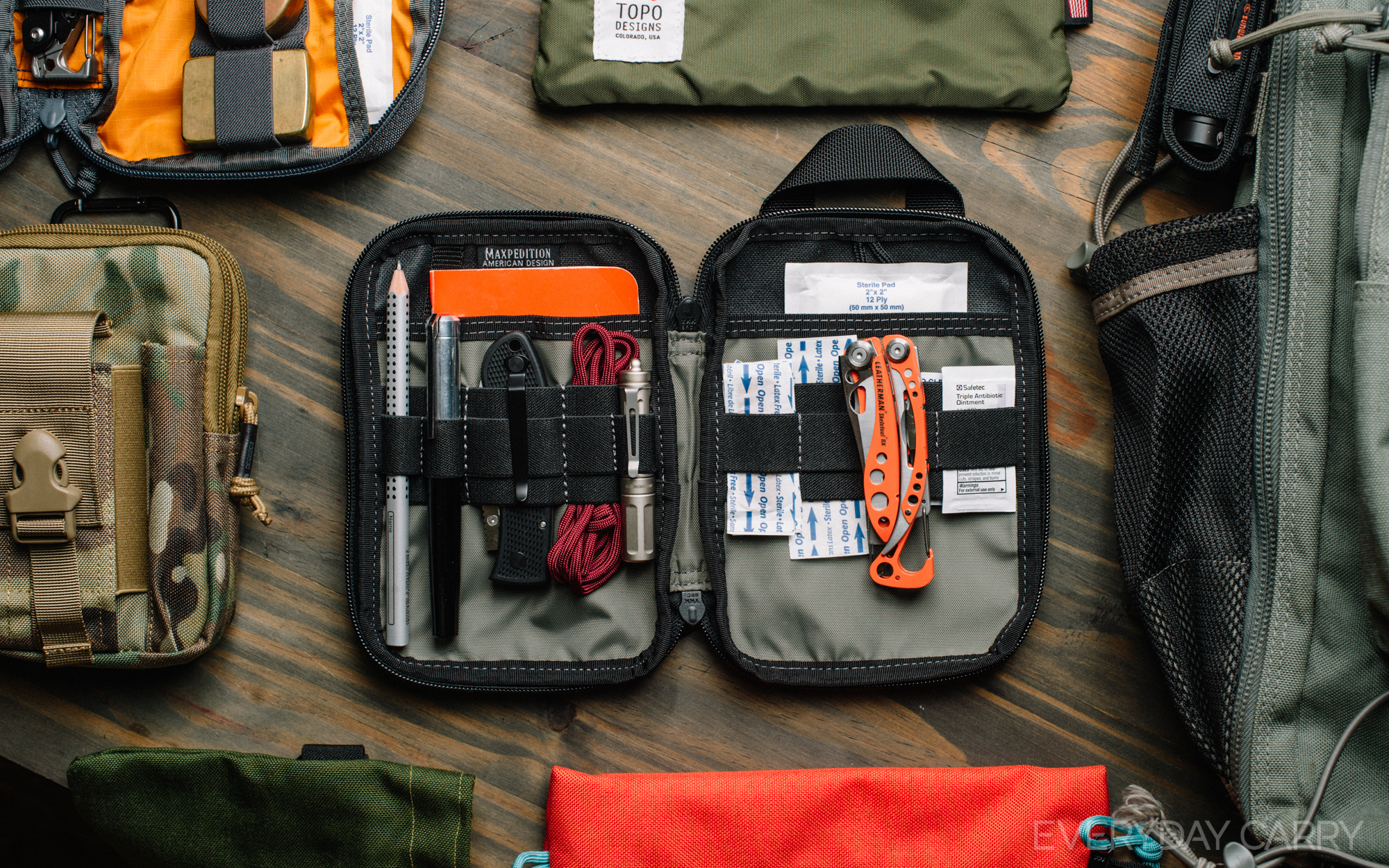 Enter The Pocket Organizer These Versatile Pouches Have A Ton Of Straps Pockets And Places For All Your Gear To Stay Neatly In Place Ready When You