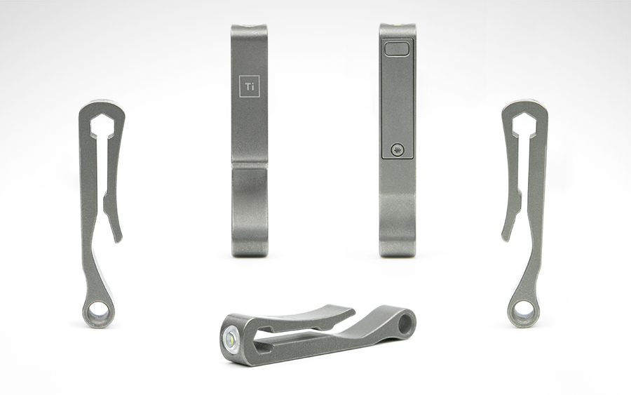 Big Idea Design Titanium Pocket Clip
