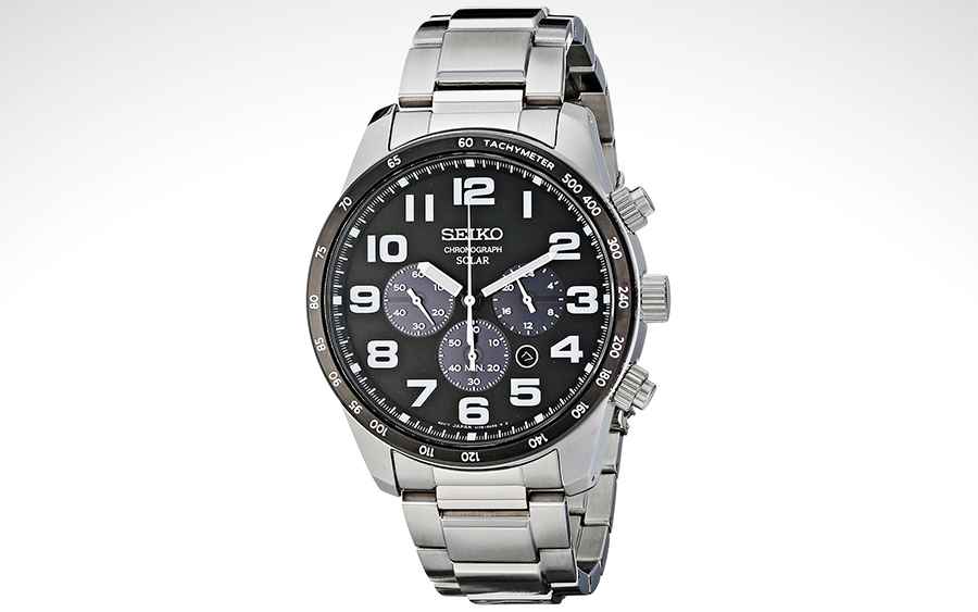Seiko SSC229 Solar-Power Watch