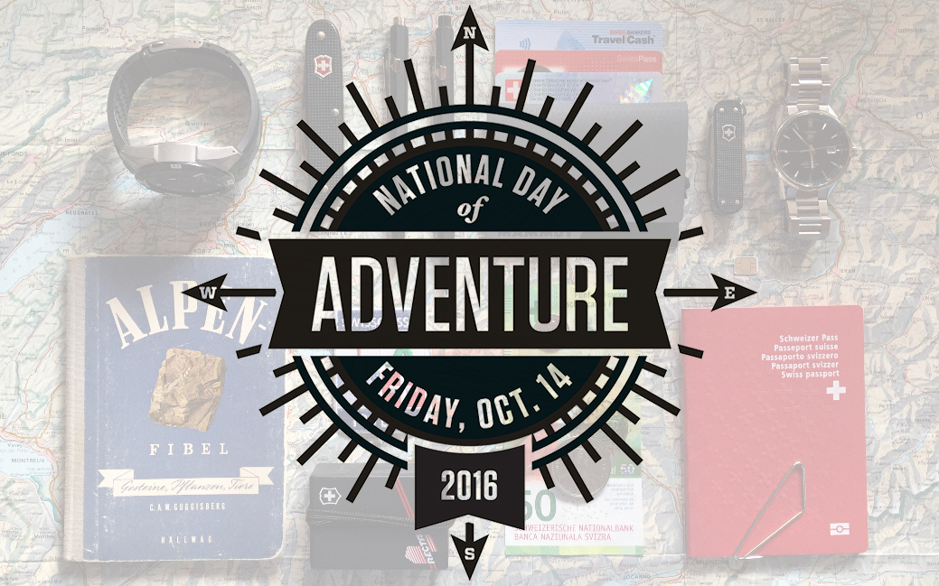 Celebrate National Day of Adventure on October 14th