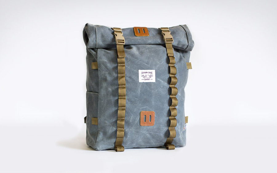 Sanborn Waxed Rolltop Pack