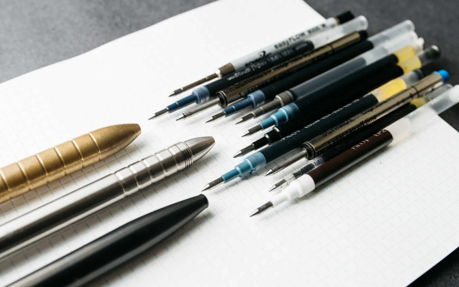 What's the Best Ink Refill for an Everyday Carry Pen?