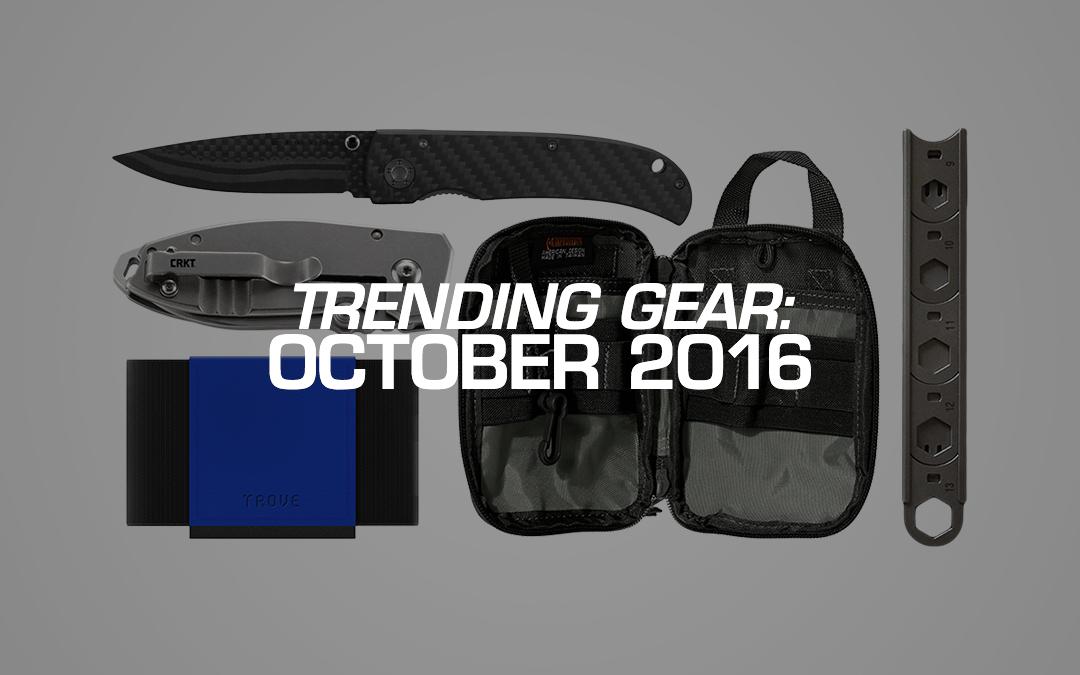 Trending Gear: October 2016
