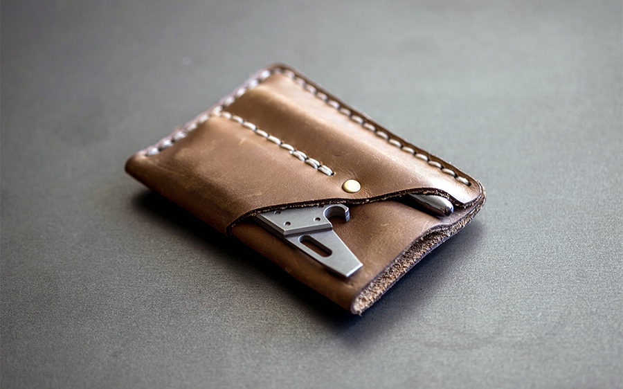 ... wallets like the formfunctionform Architect's wallet, a MonolithLeatherGoods wallet shown above, or the naoLoop Pen wallet as a non- leather option could ...