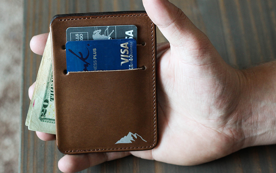 Rugged Material Front Pocket Wallet