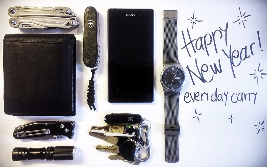 6 New Year's Resolutions for a Better Everyday Carry
