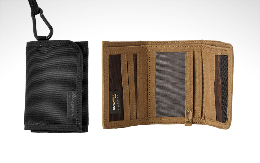 Hazard 4 Wafer Slim Tri-fold Security Wallet