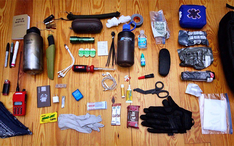 Bug Out Bag Survival Gear Checklist