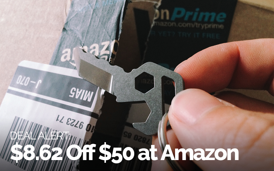 Save $8.62 Off $50+ at Amazon Today Only