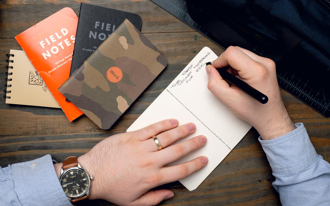 The Best Pocket Notebooks for EDC