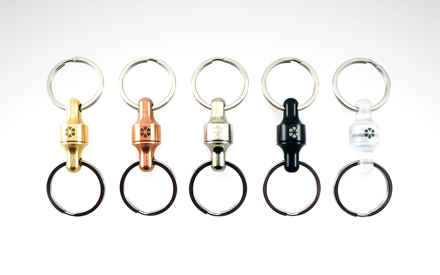 Prometheus Kappa Quick-Release Keychain