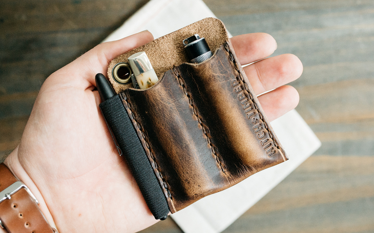 Hitch Amp Timber Leather Goods Everyday Carry