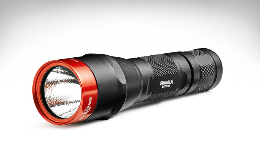 Shinola + Surefire Flashlight