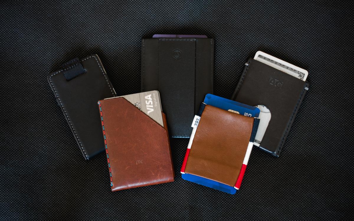 15 Slim Card Sleeve Wallets