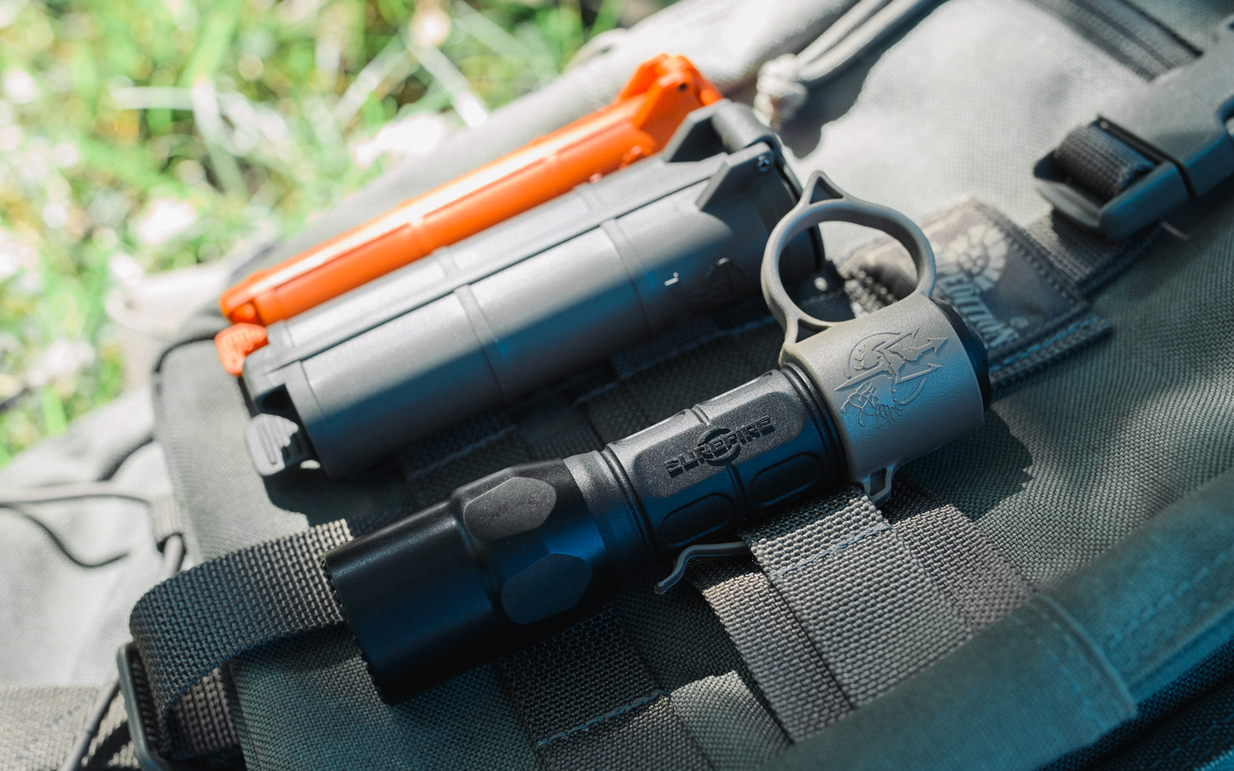 Thyrm CellVault and SwitchBack Tactical Flashlight Accessories