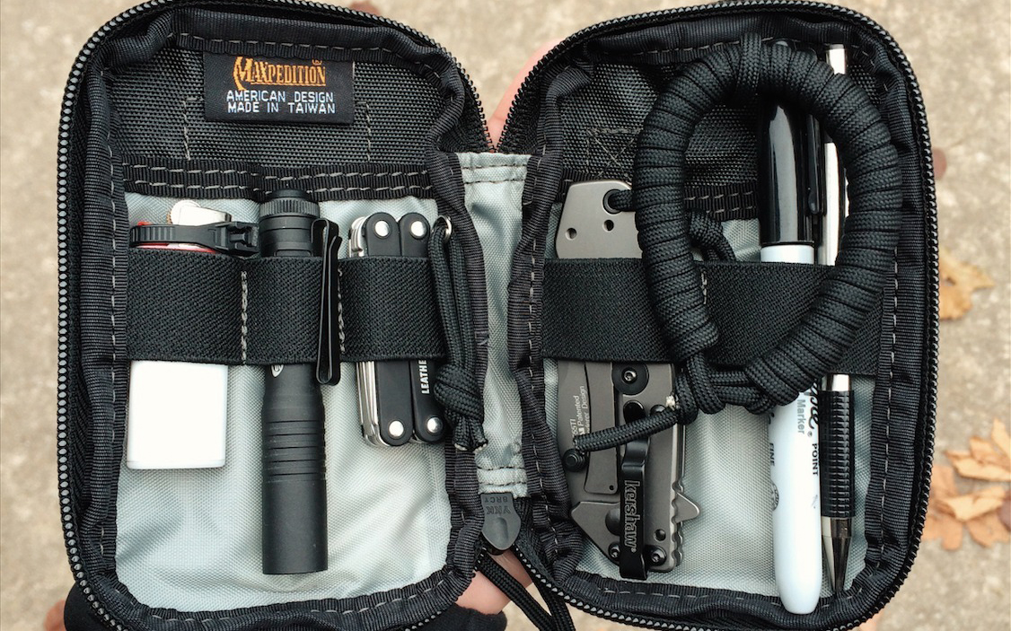 5 specialized pouch setups for your edc everyday carry