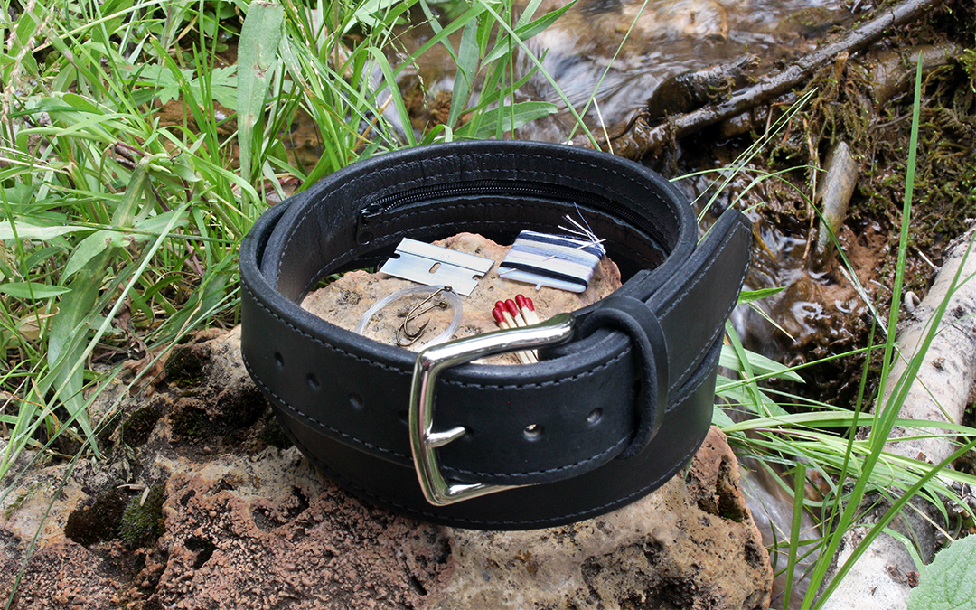 Rugged Material Ultimate Leather EDC Belt