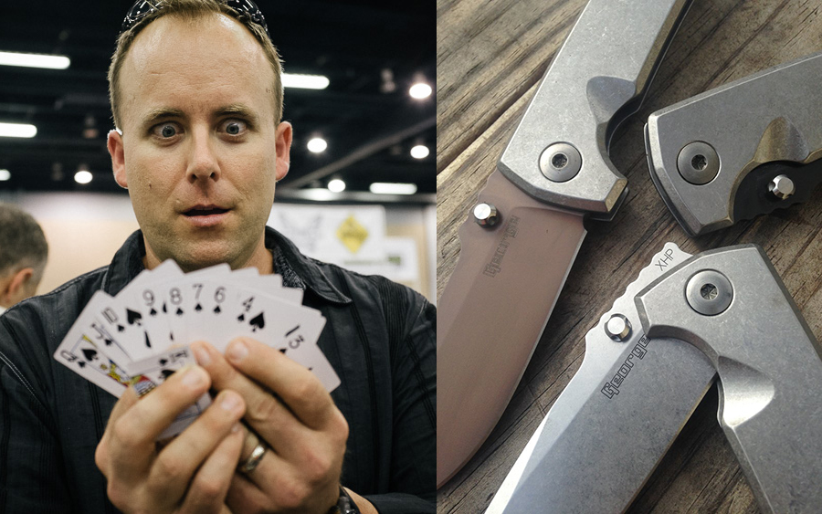 Interview: Les George, Knife Designer