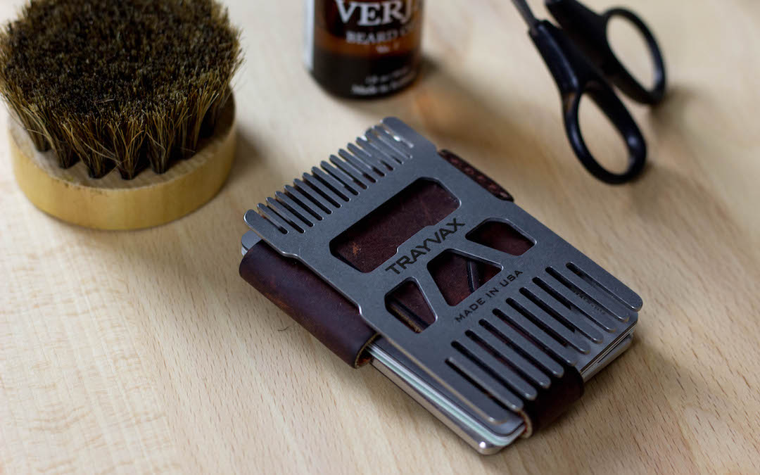 Trayvax Shift Wallet Comb Everyday Carry