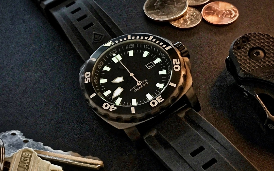 First Tactical Fathom Dive Watch