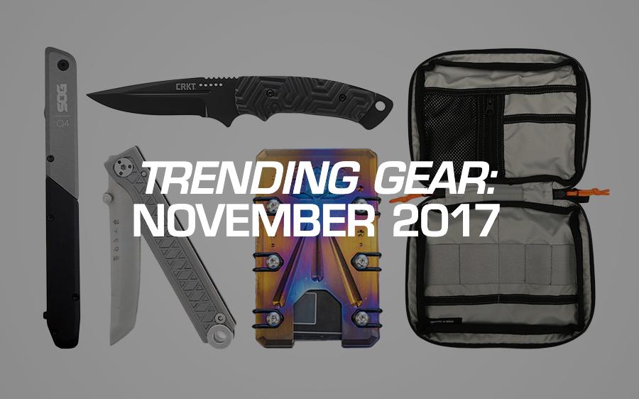 Trending Gear: November 2017