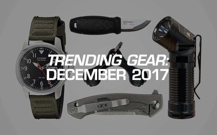 Trending Gear: December 2017