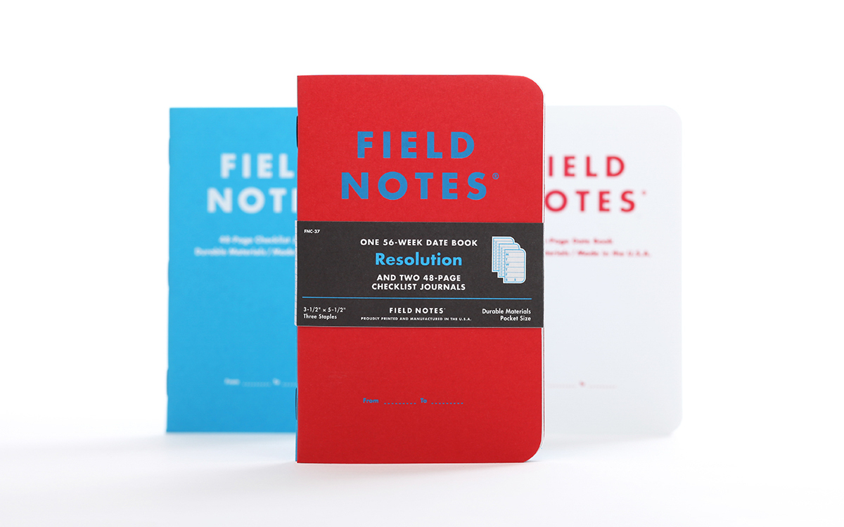 "Field Notes ""Resolution"" Pack"