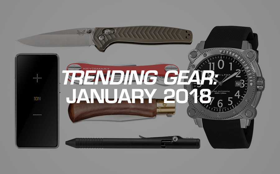 Trending Gear: January 2018