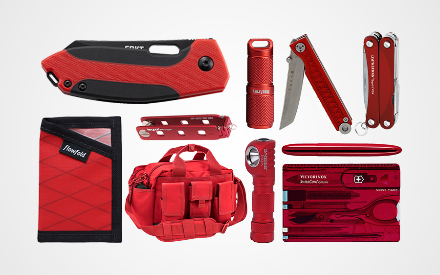 10 Red EDC Essentials