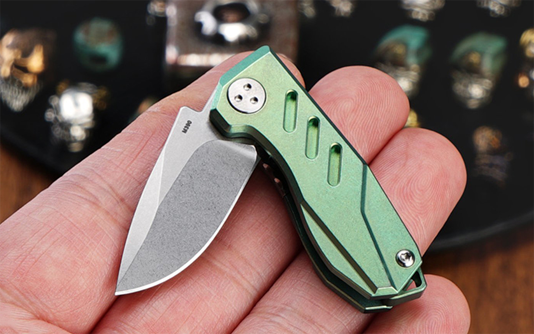 MecArmy E33KS Titanium Folding Knife
