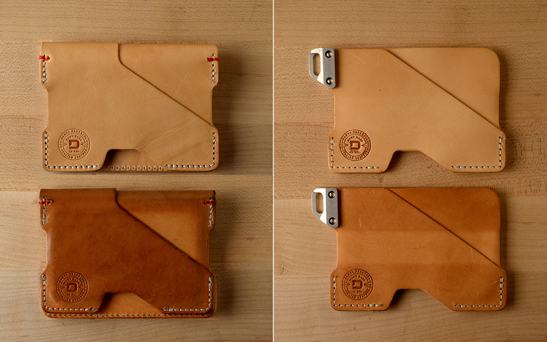 Dango Vegetable Tanned Leather Wallets
