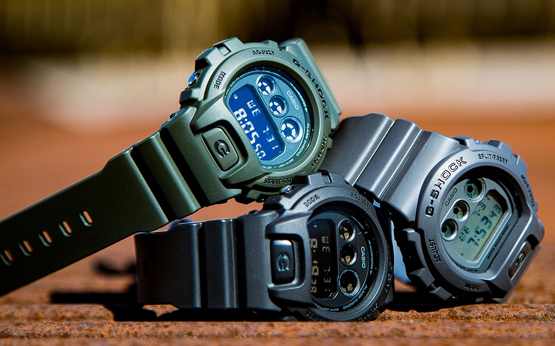 "G-SHOCK DW6900 ""Military Stealth"""