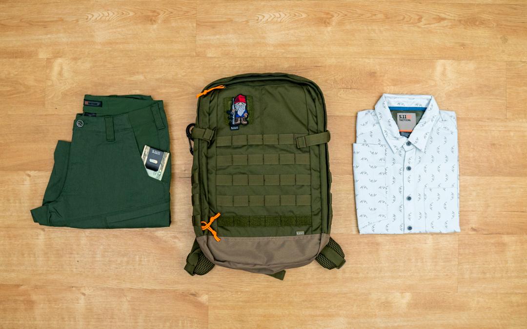 Giveaway: Win 5.11 Lightweight Summer Essentials!