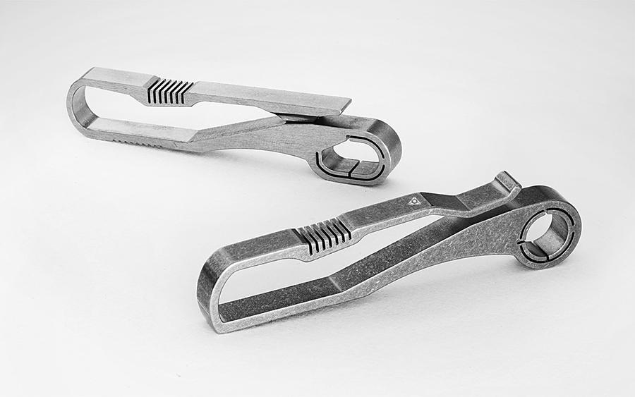 Handgrey KIN Titanium Key Hook