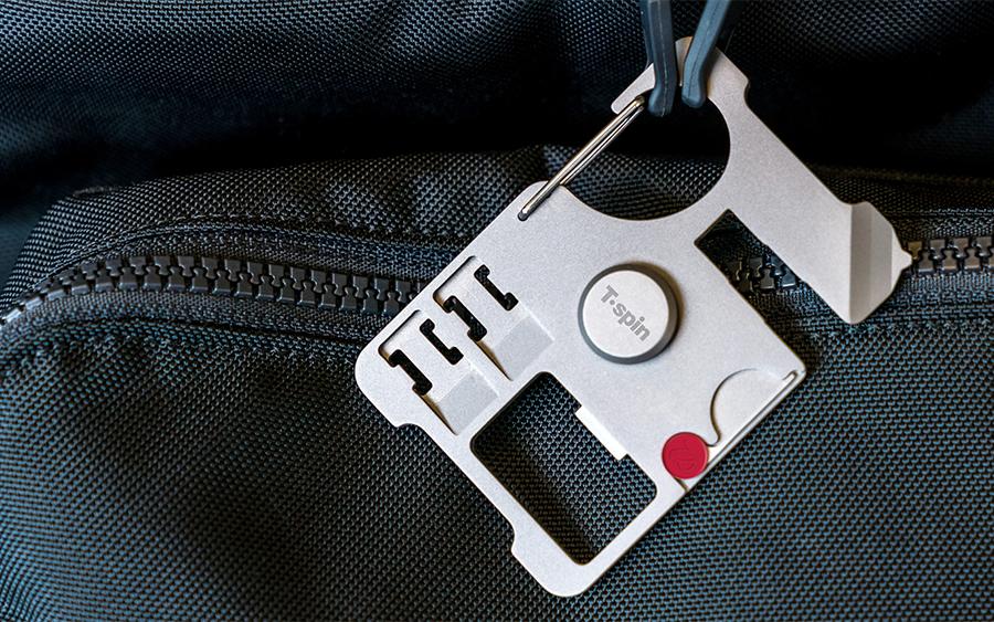 T'Spin Titanium Travel Tool