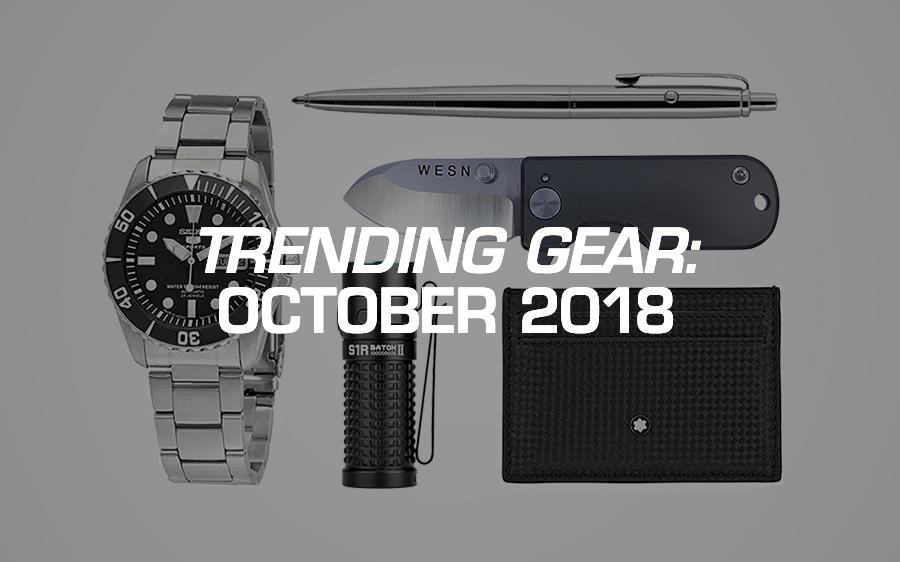 Trending Gear: October 2018
