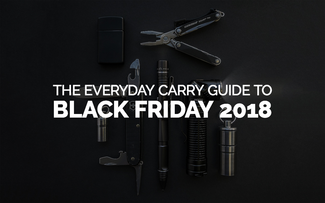The Best Black Friday EDC Deals 2018
