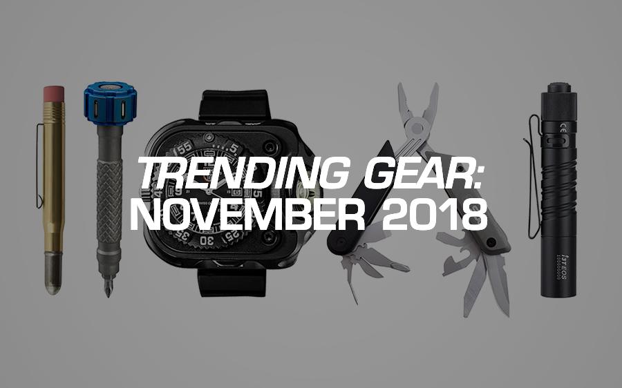 Trending Gear: November 2018