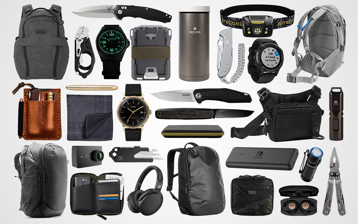 Everyday Carry Holiday Gift Guide 2018
