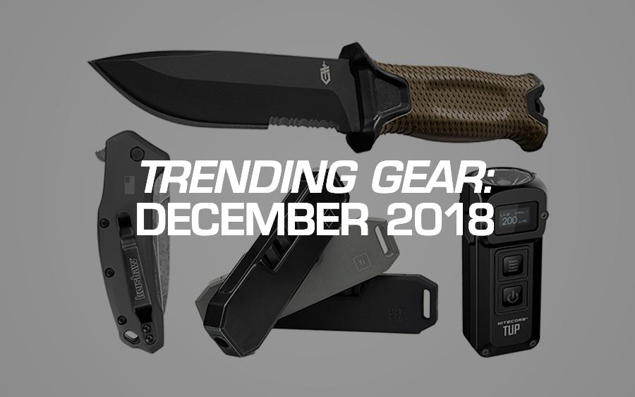 Trending Gear: December 2018