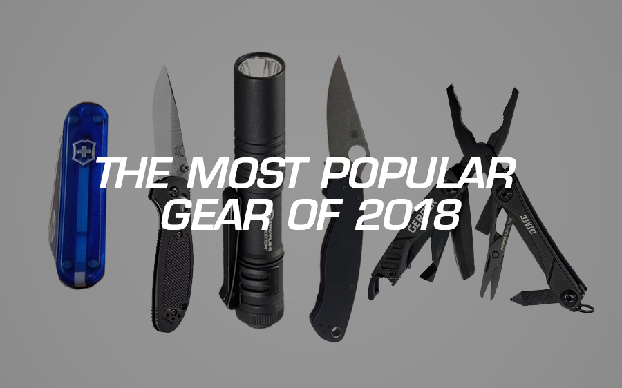 The Most Popular Gear in 2018