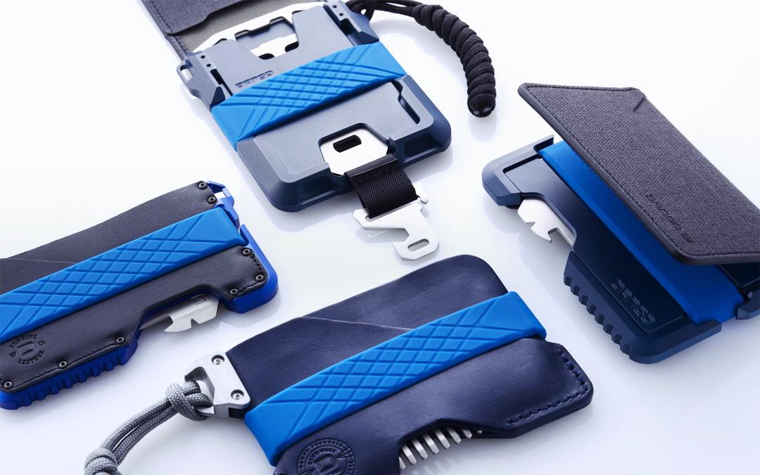 Dango Blue Line Tactical Wallets