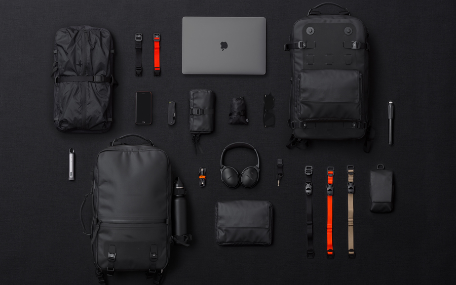 Black Ember Citadel Waterproof Backpacks