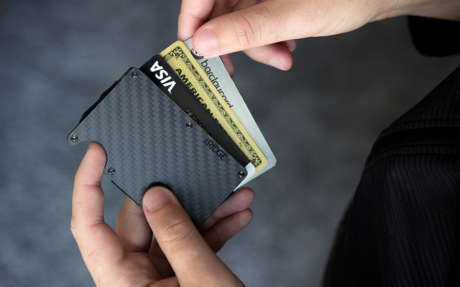 Ridge Wallet Carbon Fiber