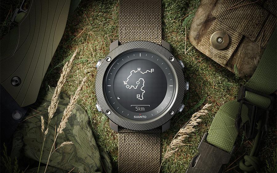 Suunto Traverse Alpha Tactical Watch