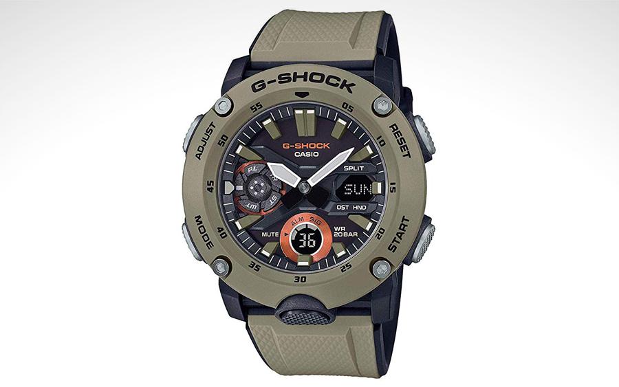 Casio G-Shock GA-2000-1A2 Carbon Core